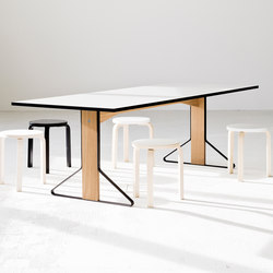 Kaari Table rectangular REB012 | Mesas de reuniones | Artek