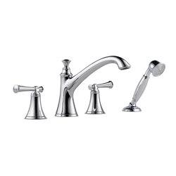 Roman Tub Faucet with Handshower, Lever Handles | Bath taps | Brizo