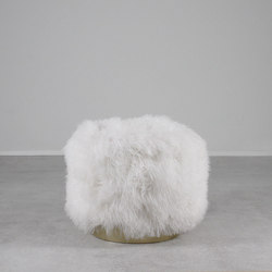 Deco Mongolian Stool | Pouf | Pfeifer Studio