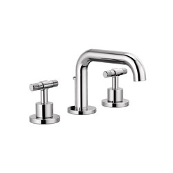 Widespread with Low Spout and T-Lever Handles | Wash basin taps | Brizo