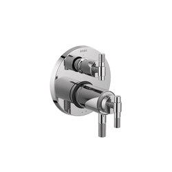 TempAssure Thermostatic Valve with Integrated 3-Function Diverter and T-Lever Handle | Shower controls | Brizo
