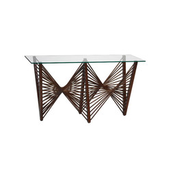 Geo Console, Medium Brown | Console tables | Oggetti