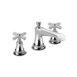 Widespread with Cross Handles | Wash basin taps | Brizo