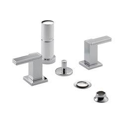 Two-Handle Bidet Faucet with Metal Handles | Grifería para bidés | Brizo
