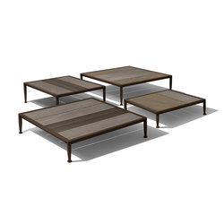 Gea Low Table | Tables basses de jardin | Giorgetti
