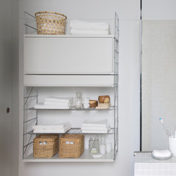 TRIA 36 bathroom | Wall cabinets | Mobles 114