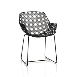 Octa Arm Chair, Black | Gartenstühle | Oggetti