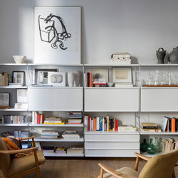 TRIA 36 living room | Shelving | Mobles 114