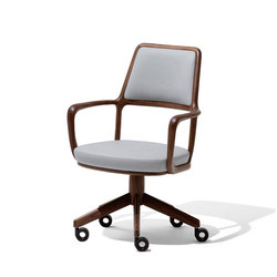 Baron Small armchair | Task chairs | Giorgetti