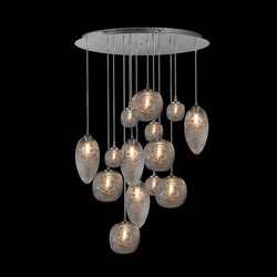 Cosmos Chandelier 14 | Ceiling suspended chandeliers | Oggetti