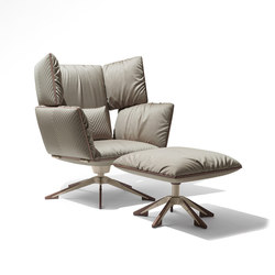 Sahara Wing chair | Recliners | Giorgetti