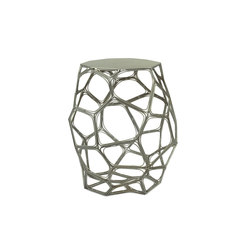 Mosaico End Table, Silver | Side tables | Oggetti