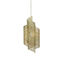 Zedd Suspension, Pale Gold, Small | Suspended lights | Oggetti