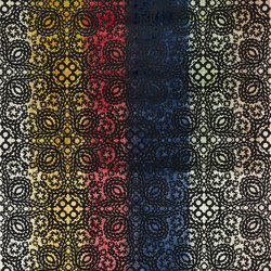 Au Thèâtre Ce Soir Fabrics | Paseo Sunset Arlequin | Curtain fabrics | Designers Guild