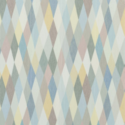 Au Thèâtre Ce Soir Fabrics | Mascarade Arlequin | Curtain fabrics | Designers Guild