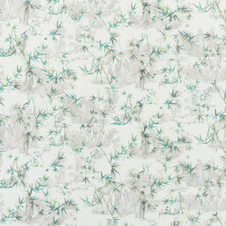 Au Thèâtre Ce Soir Fabrics | Goya Vert Buis | Curtain fabrics | Designers Guild