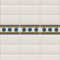 California Revival | Dario Border | Ceramic tiles | Tango Tile