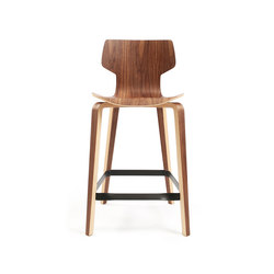 Gràcia | Hocker Walnuss 65 | Bar stools | Mobles 114