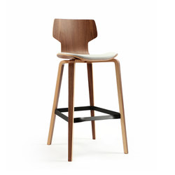 Gràcia | Hocker Walnuss 75 | Bar stools | Mobles 114
