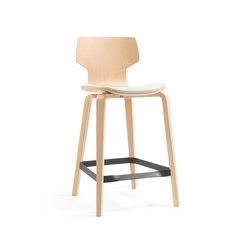 Gràcia | stool oak 65 | Bar stools | Mobles 114