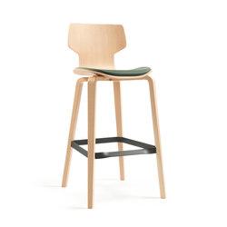 Gràcia | stool oak 75 | Bar stools | Mobles 114