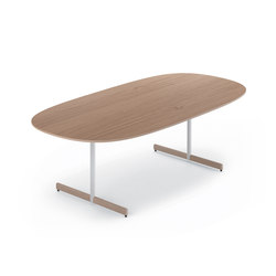 Myk - 240x120 cm | Canteen tables | Fora Form