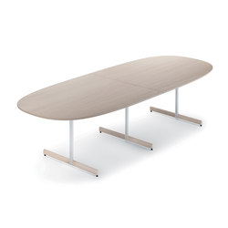 Myk - 300x120 cm | Canteen tables | Fora Form