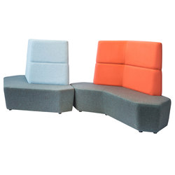 Rune | High Back Lounge | Elementos asientos modulares | Luxxbox
