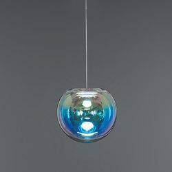 Iris - blue/orange 30 | Suspended lights | NEO/CRAFT