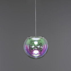 Iris - pink/green 30 | Suspended lights | NEO/CRAFT