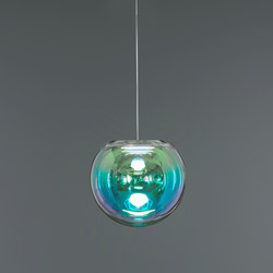 Iris - cyan/magenta 30 | Suspended lights | NEO/CRAFT
