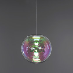 Iris - pink/green 40 | Suspended lights | NEO/CRAFT