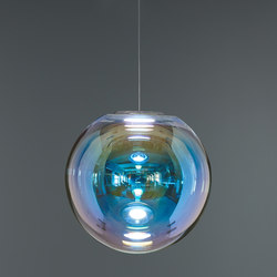 Iris - Blau/Orange 50 | Pendelleuchten | NEO/CRAFT
