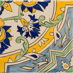 Classic Talavera | Amanecer en el Jardín 4-Piece Pattern | Piastrelle ceramica | Tango Tile