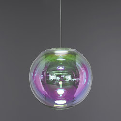 Iris - pink/green 50 | Suspended lights | NEO/CRAFT