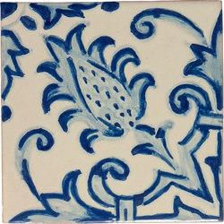 Classic Talavera | Cardo 4-Piece Pattern | Baldosas | Tango Tile