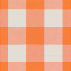 ALPHA-CHECK 2.0 - 347 orange | Tessuti decorative | Nya Nordiska
