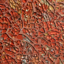 Ellen Blakeley | Elements - Pompeii | Glass mosaics | Tango Tile