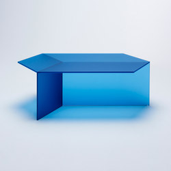 Isom Oblong - frosted blue | Coffee tables | NEO/CRAFT