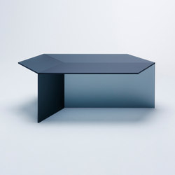 Isom Oblong - frosted black | Lounge tables | NEO/CRAFT