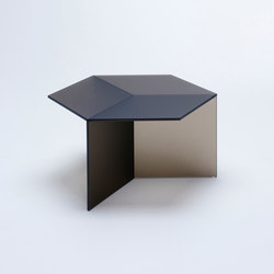 Isom Square - frosted bronze | Mesas de centro | NEO/CRAFT