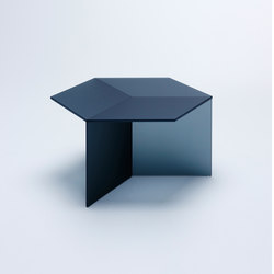 Isom Square - frosted black | Mesas de centro | NEO/CRAFT