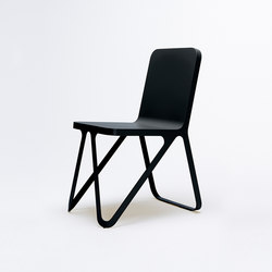 Loop Chair - jet black | Chaises de restaurant | NEO/CRAFT