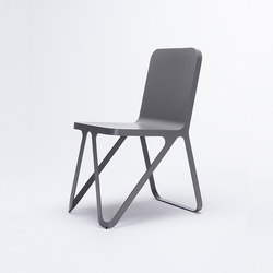 Loop Chair - quartz grey | Chaises de restaurant | NEO/CRAFT