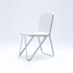 Loop Chair - silk grey | Chaises de restaurant | NEO/CRAFT