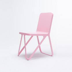 Loop Chair - light pink | Chaises de restaurant | NEO/CRAFT