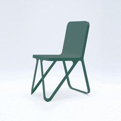 Loop Chair- moss green | Chaises de restaurant | NEO/CRAFT