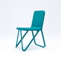 Loop Chair - ocean blue | Chaises de restaurant | NEO/CRAFT