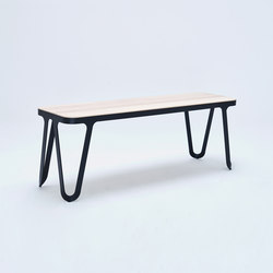 Loop Bench - jet black | Panche attesa | NEO/CRAFT
