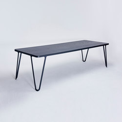 Loop Table - jet black | Tavoli da pranzo | NEO/CRAFT